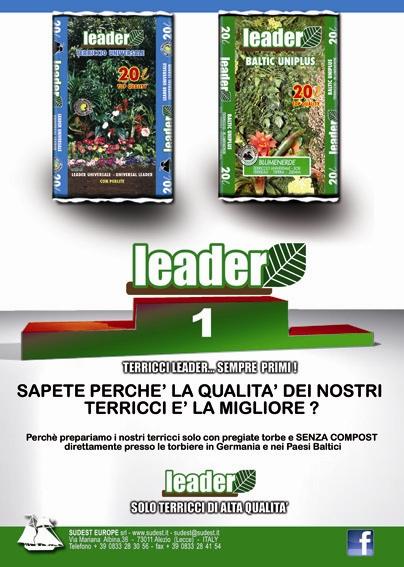 Pagina pubblicitaria Leader 2012-2013