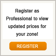 Register as a professional to view real time updated  prices for your area!